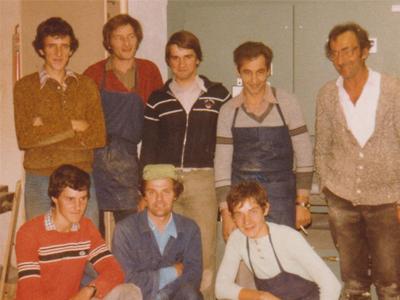 Team - Tischlerei Müller - Gruppenbild
